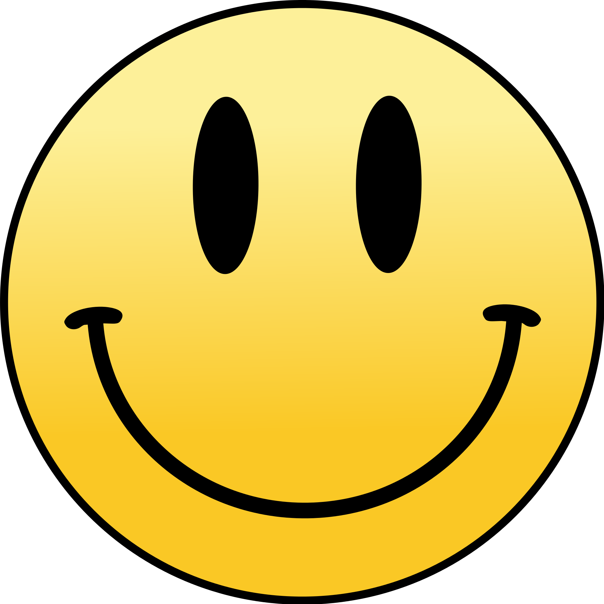 white smiley face png 5